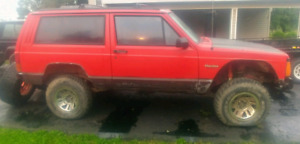 92/95 Jeep Cherokee 4x4 M/T 4.0L package! Trade 4 Sport Bike