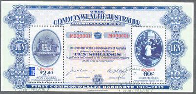 Australia-Banknotes min sheet f.used-cto - ms3991-2013