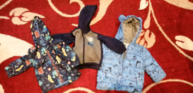 Kids Shoes and jacket
