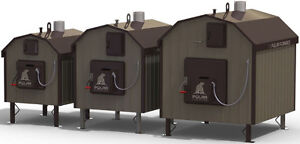 Updraft Outdoor Wood Boilers - Four Models