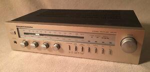 VGC Vintage MARANTZ SR225 STEREO RECEIVER AM/FM w warr