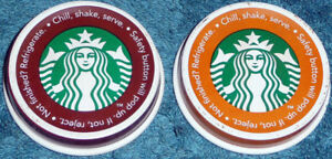 Starbucks's  Cappuccino Bottle Caps.
