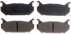 NOVA POWER PRO SMD584 SEMI-METALLIC BRAKE PADS (Box 11) D584