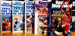 Sports Illustrated Year in Sports VHS Tapes