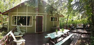 Move in ready 3 bedroom family cabin with 4 bed bunkhouse