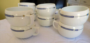 SET OF 10 MIKASA MUGS - EXCELLENT
