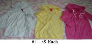 5T Girl's --- Summer cotton Sun block Outwear