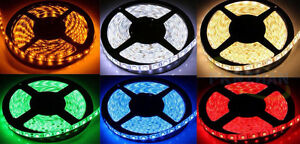 5 meter LED light strip (16.4 feet) - 12v - Pick your color!