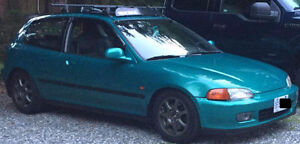 1993 Civic 230hp and 12.0s 1/4 mile