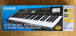 Keyboard Piano (Casio CTK-1100)