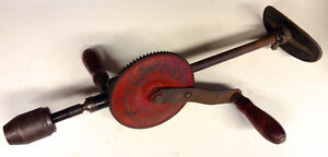 Antique two-speed Breast Drill