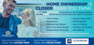 Private first and second mortgages, home equity loans, debt cons