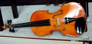 Violin Full Size 4:4 Complete With Bow And Case. New.