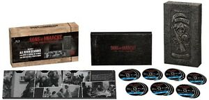 BLU-RAY! SONS OF ANARCHY LIMITED EDITION BOX SET