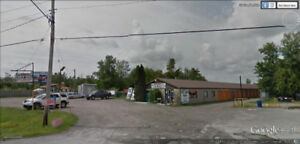Commercial Lot & Mini Storage c/w Land to Build  in Smiths Falls