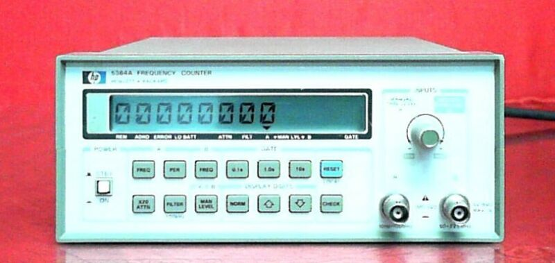 HP - Agilent - Keysight 5384A 2730A04996 FREQUENCY COUNTER