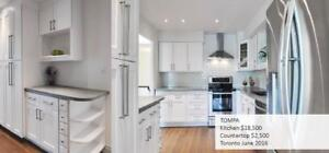 Renovate your kitchen! Beautiful kitchen cabinets in the GTA