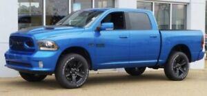 Dodge Ram sport rims and tires