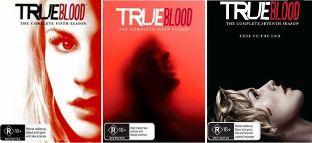 True Blood Series : Season 5, 6 & 7 - NEW DVD