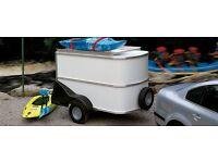 Ifor williams bv64 unbraked box van trailer new