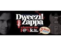 Dweezil Zappa: Birmingham tickets - 12 Oct 2017 - Row C Stalls