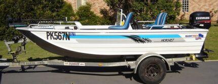 Quintrex Hornet 420 Trophy Coffs Harbour 2450 Coffs Harbour City Preview