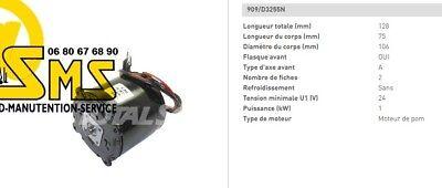 Engine Hydraulic Pump 24v 1 Kw Linde 0039761122 Hpi Pallet Truck Electric