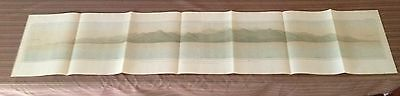 Large Lithograph Plate of the Panama Canal (1899-1900)Isthmian Canal Comm #13