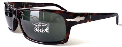 Persol Sunglasses Model 2997-S Color 24/31 Havana Tortoise / Grey 60mm New Italy