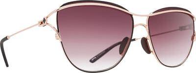 Brandneu Spy Optic Sonnenbrille Marina Rotgold Föhlich Merlot Fade Objektiv