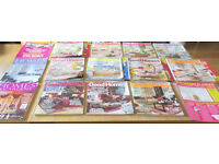 GOOD HOMES MAGAZINES 2005 - 2006 SUITABLE FOR COLLECTOR. APRIL 2005 TO FEB 2006. MANY SUPPLEMENTS