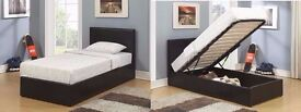 **WOW**BLACK FRIDAY WEEK SALE--Single/Double Storage Bed with 10inch DualSided Original DQ Mattress