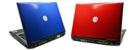 "Dell D630 Notebook Laptop DVD/RW 14"" Screen, WiFi - Office etc BARGAIN Red or Blue Lids"
