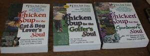 C) 3 Chicken Soup for the Soul books
