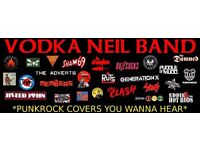 VODKA NEIL BAND at the Red Lion Bildeston Friday 24th February. Classic punk rock covers.