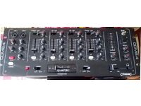 "DJ Mixer Citronic CDM8:4 10 Input 19"" Rack 4-CHANNEL Mixing Disco Karaoke Sound Audio"