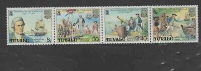 TUVALU #117a 1979 CAPTAIN COOK MINT VF NH O.G
