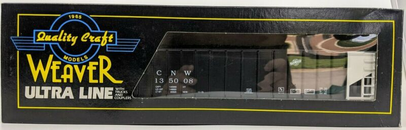 Weaver 9002 O Gauge Chicago Northwestern 3-Bay Hopper w/ Coal Load LN/Box