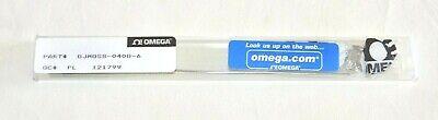 Omega Gjmqss-040g-6 Thermocouple Probe With Mini Connector Black
