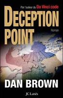 Dan Brown  ¨ Deception Point ¨ grand format
