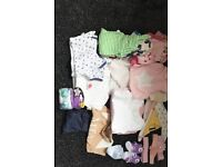 Baby Girl 0-3 Months Clothes Bundle