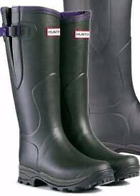 Hunter Wellington Boots - Size 4