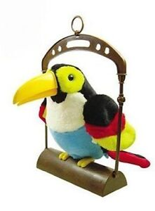 Brand new Animated Talking Toucan Toy with moving beak and wings