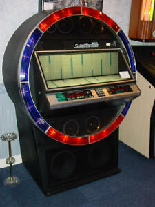 Juke Box - NSM Satellite 200 + over 1,500 45rpm records