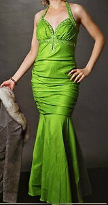 Gorgeous Emerald Gown with Beading
