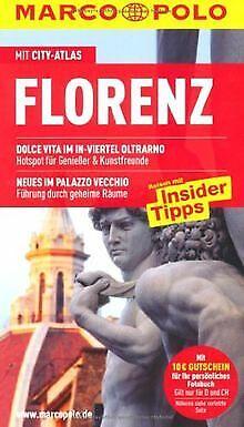 MARCO POLO Reiseführer Florenz mit Szene-Guide, 24h... | Buch | Zustand sehr gut (Florenz Guide)
