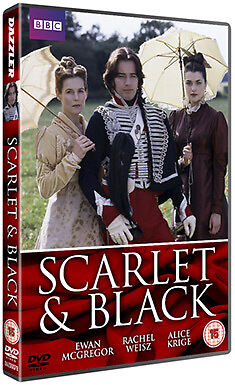 DVD:SCARLET AND THE BLACK - NEW Region 2 UK