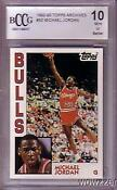 Michael Jordan Topps Rookie Card