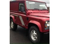 LOOKING FOR LANDROVER DEFENDER