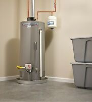 Hot water heater service and installation ' repairs